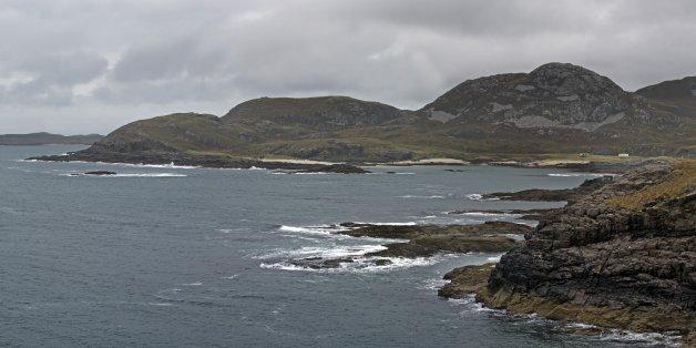 Sanna Bay seen from Ardnamurchan Point in Lochaber, Scottish Highlands, Scotland. (Photo by: Arterra/UIG via Getty Images)