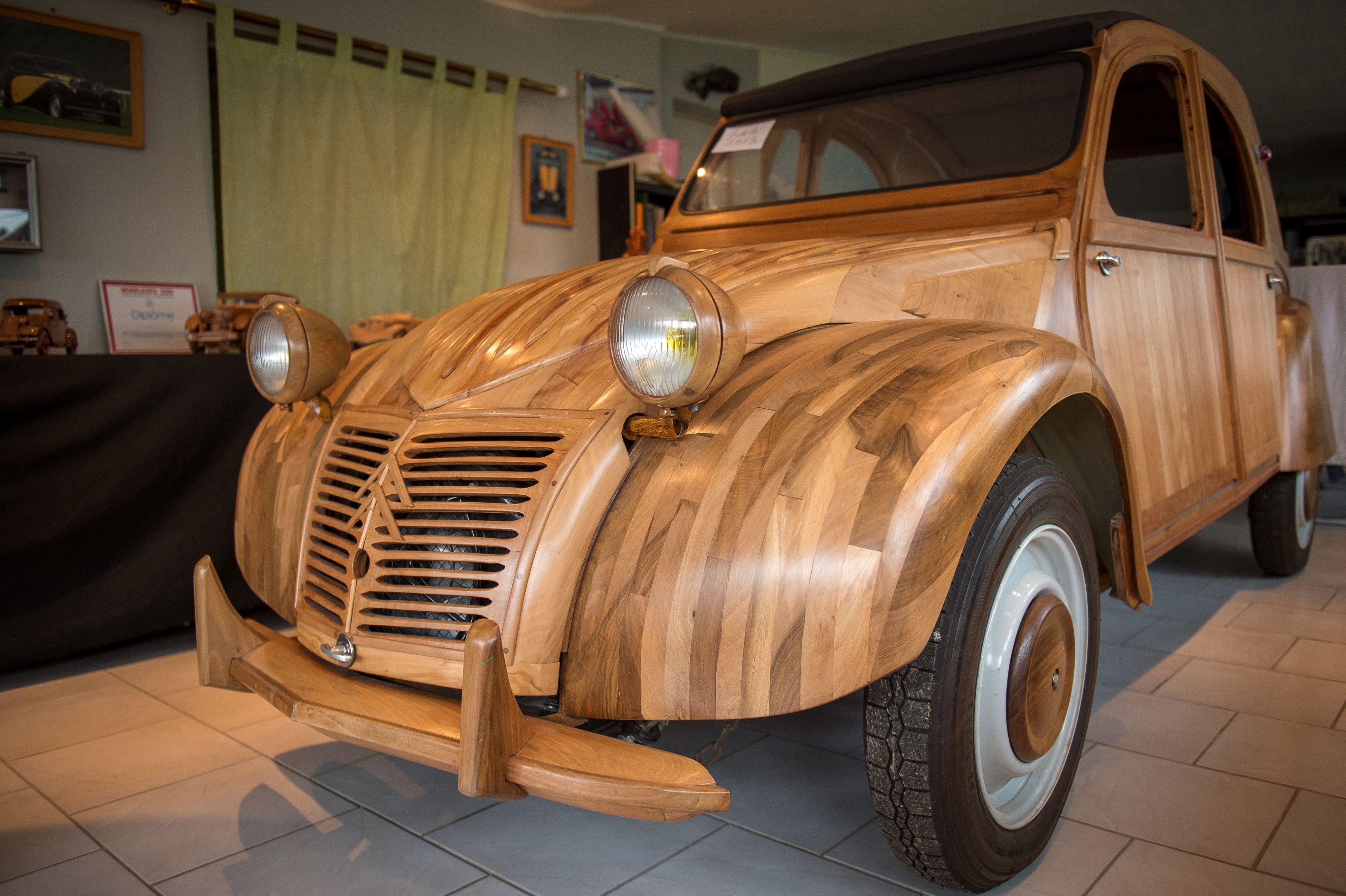 2cv wood