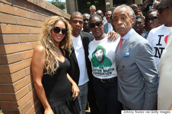 jay z and trayvon