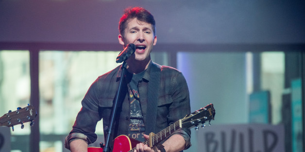 NEW YORK, NY - MARCH 01:  Musician James Blunt performs at the Build Series at Build Studio on March 1, 2017 in New York City.  (Photo by Roy Rochlin/FilmMagic)