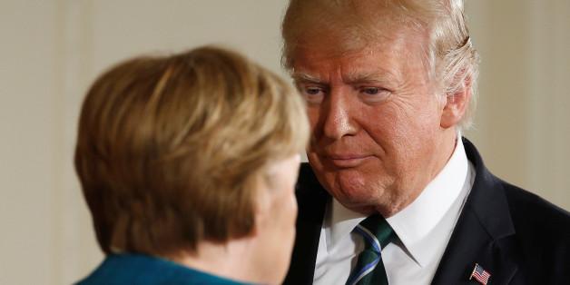 Deshalb rief US-Präsident Trump Kanzlerin Merkel nach der Saarland-Wahl an