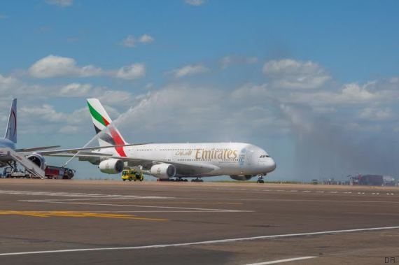 emirates a380 casablanca