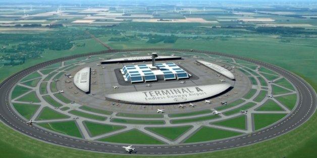 """""""Simpler und effektiver"""": So könnte der Flughafen der Zukunft aussehen"""