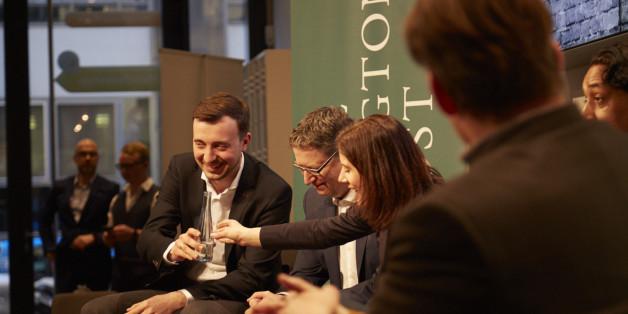 Hitzige Debatte bei HuffPost-Büroeröffnung in Berlin: Spitzenpolitiker aller Parteien zeigten sich angriffslustig