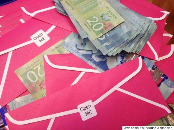 envelopes cash antigonish