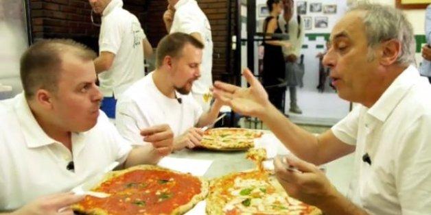 Rach bei einer guten Pizza - die schlechte bekam er kurz vorher vorgesetzt
