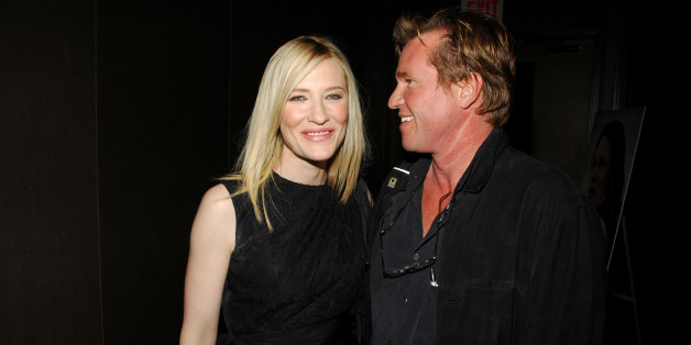 NEW YORK CITY, NY - OCTOBER 3: Cate Blanchett and Val Kilmer attend THE CINEMA SOCIETY and W MAGAZINE host a Screening of 'ELIZABETH: THE GOLDEN AGE' at Tribeca Grand Hotel on October 3, 2007 in New York City. (Photo by BILLY FARRELL/Patrick McMullan via Getty Images)
