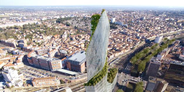 Die französische Stadt Toulouse hat den Auftrag für ihren ersten Wolkenkratzer vergeben