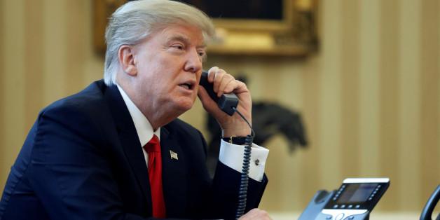 Der wahre Grund für Donald Trumps Anruf bei Merkel könnte ein peinlicher Irrtum sein