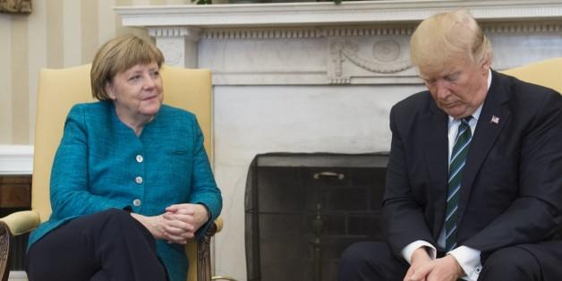 Insider-Bericht vom Merkel-Treffen zeigt, wie unverschämt Trump wirklich ist