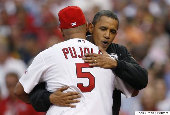 president pitch baseball