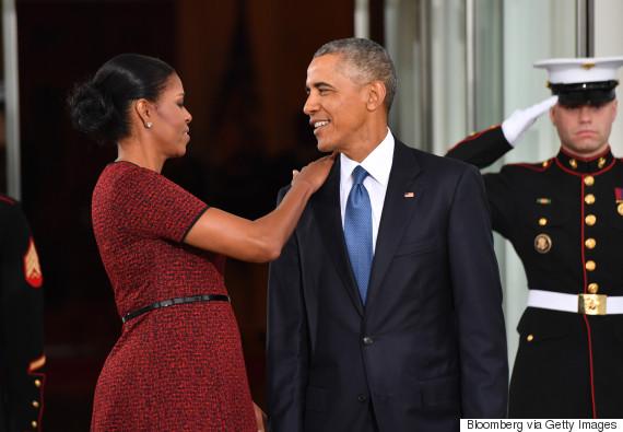 obama barack and michelle