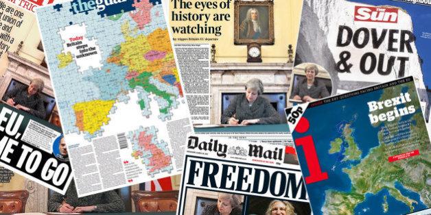 Jour J pour le Brexit: les Unes les plus marquantes de la presse britannique