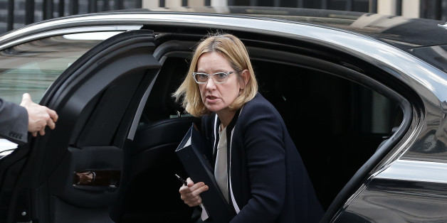 British Home Secretary Amber Rudd arrives outside 10 Downing Street in central London, on March 28, 2017. British Prime Minister Theresa May will send a letter to EU President Donald Tusk with Britain's formal departure notification on Wednesday, opening up a two-year negotiating window before Britain actually leaves the bloc in 2019. / AFP PHOTO / Daniel LEAL-OLIVAS        (Photo credit should read DANIEL LEAL-OLIVAS/AFP/Getty Images)