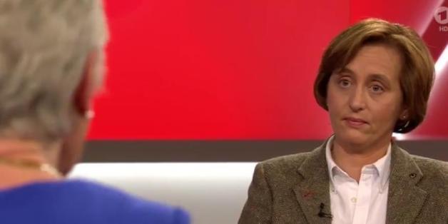 AfD-Europaabgeordnete Beatrix von Storch bei Maischberger