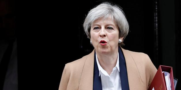 Die britische Premierministerin Theresa May steht vor schwierigen Verhandlungen