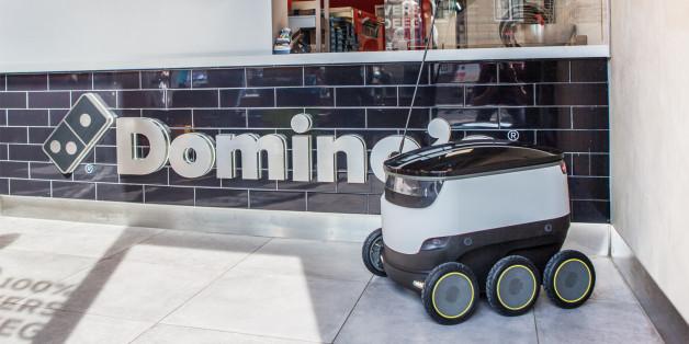 Werden wir alle bald schon unsere Pizza von einem Roboter geliefert bekommen?