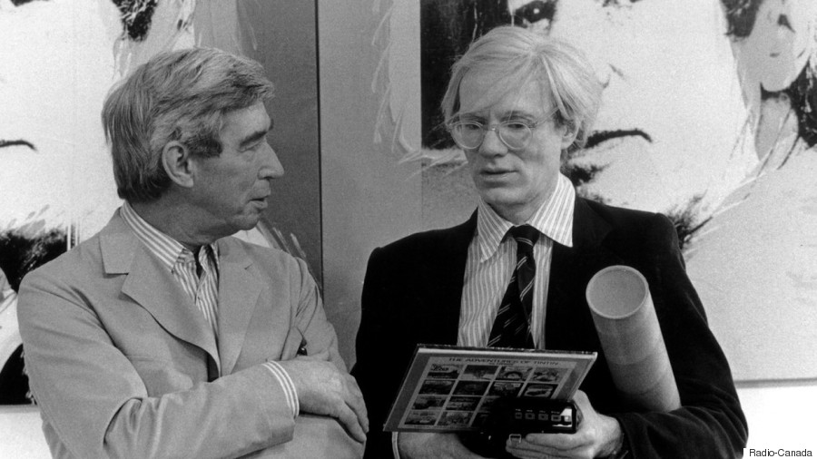 herge et andy warhol