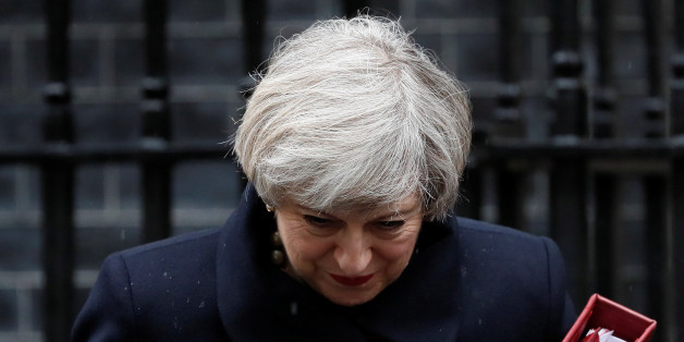 Britain's Prime Minister Theresa May leaves Downing Street in London, Britain March 22, 2017. REUTERS/Stefan Wermuth