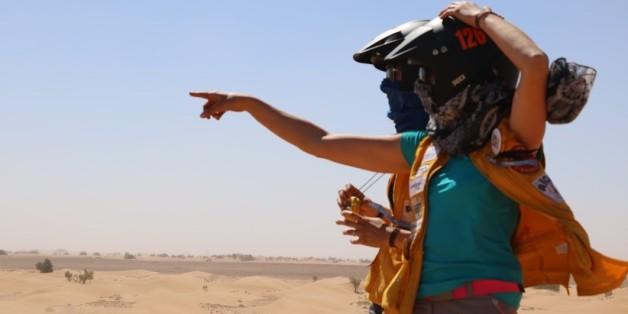 Les Gazelles ont passé 9 jours dans le désert marocain.
