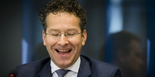 Dutch Finance Minister and President of Eurogroup, Jeroen Dijsselbloem, reacts during a meeting on the Eurogroup at the Senate in The Hague on March 30, 2017. / AFP PHOTO / ANP / Bart MAAT / Netherlands OUT        (Photo credit should read BART MAAT/AFP/Getty Images)