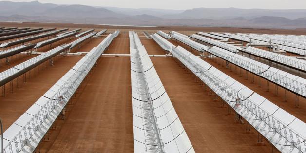 Dernière ligne droite pour le complexe solaire Noor de Ouarzazate