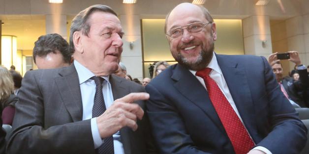 Ex-Kanzler Schröder warnt SPD-Kanzlerkandidat Schulz vor Rot-Rot-Grün