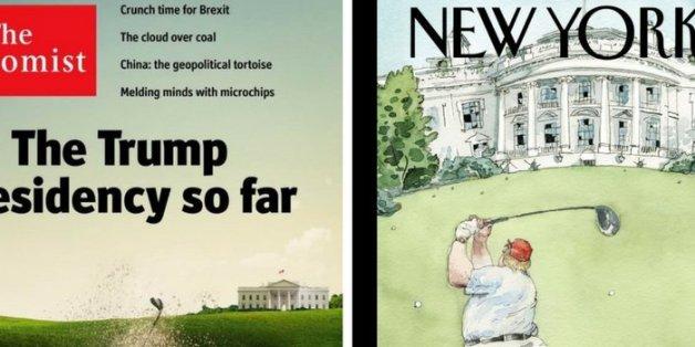 """""""New Yorker"""" und """"Economist"""" rechnen scharf mit Donald Trump ab"""