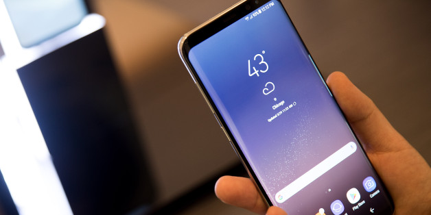 NEW YORK, NY - MARCH 29: A view of the new Samsung Galaxy S8 at its Samsung launch event, March 29, 2017 in New York City. Following the recall and discontinuation of the Samsung Galaxy Note 7, the Galaxy S8 is the new flagship smartphone for Samsung. (Photo by Drew Angerer/Getty Images)