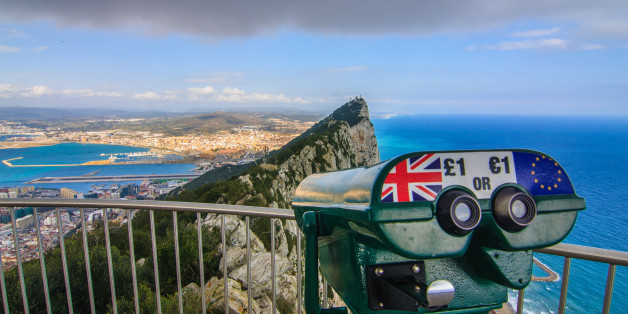 Amazing Vista from the top of the Rock of Gibraltar