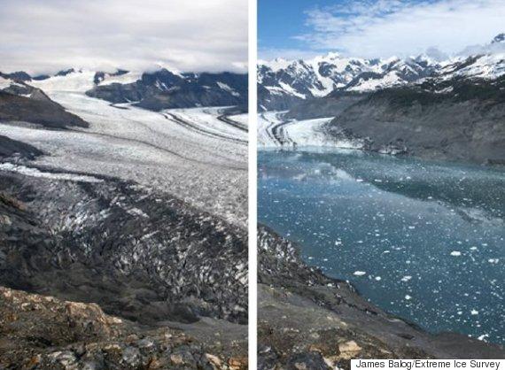 alaska glacier retreat