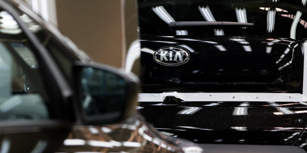 Kia Motors Corp. Soul vehicles move along the production line at the company's plant in Gwangju, South Korea, on Friday, July 8, 2016. South Korea is scheduled to release producer price index (PPI) figures on July 19. Photographer: SeongJoon Cho/Bloomberg via Getty Images