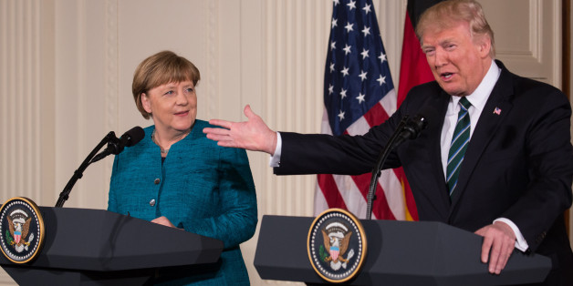 """""""Die Medien verstehen es nicht"""": Das soll Merkel Trump nach ihrem Besuch am Telefon gesagt haben"""