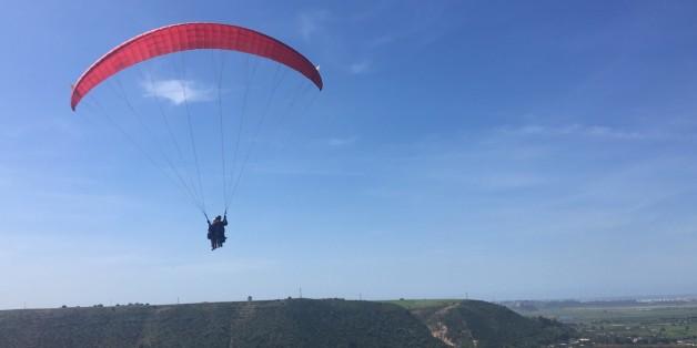 Un saut en parapente pour voir Rabat et Salé autrement.