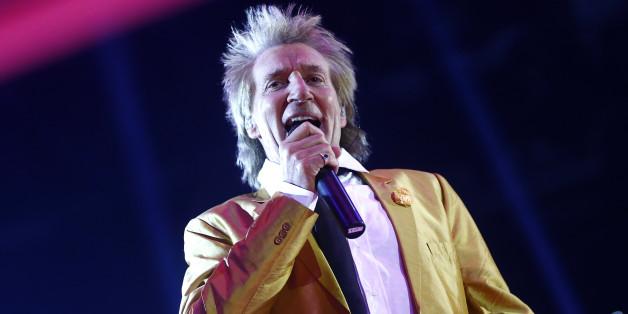 Le rockeur Rod Stewart à Mawazine le 20 mai