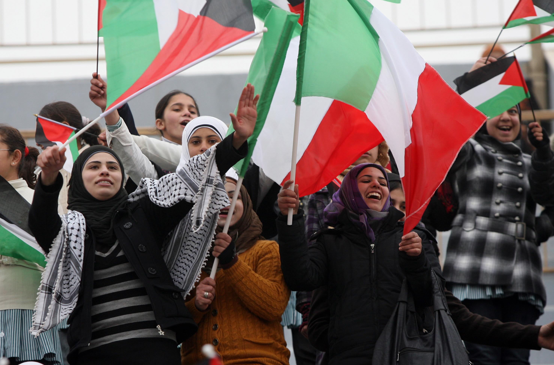 socer palestine women