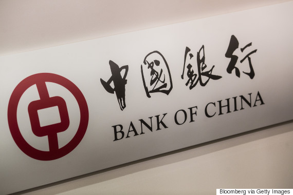 bank of china sign