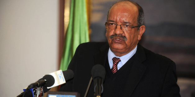 Minister Delegate in charge of Maghreb and African Affairs Abdelkader Messahel speaks during a press conference during the 10th session of the Algerian-Nigerien  joint commission in Algiers on November 20, 2011.  AFP PHOTO / FAROUK BATICHE (Photo credit should read FAROUK BATICHE/AFP/Getty Images)