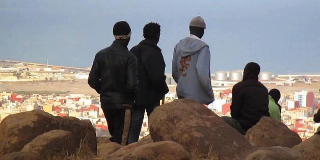 """""""Les sauteurs"""" nous montre la vie des migrants de Melila."""