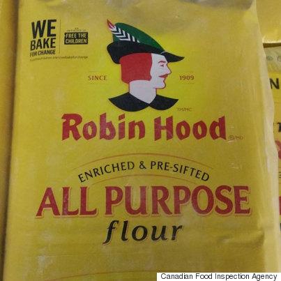 robin hood flour recall e coli