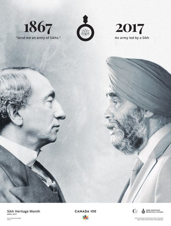 sikh canada poster