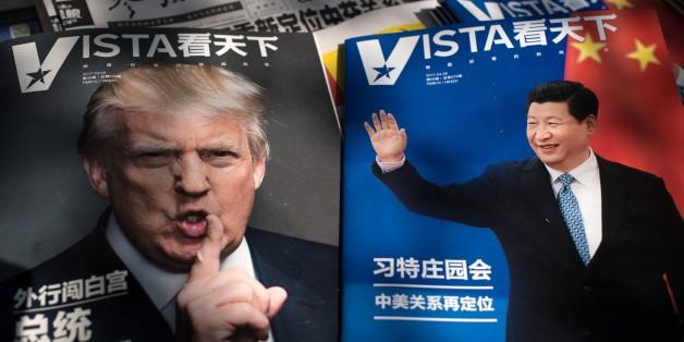 Heute treffen sich Donald Trump und Xi Jinping in Florida.