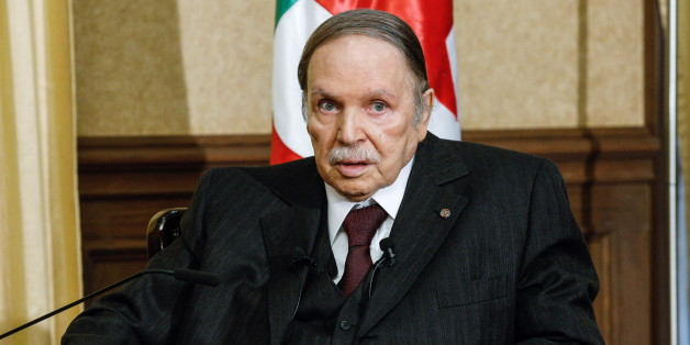 ALGIERS, ALGERIA. FEBRUARY 29, 2016. Algeria's president Abdelaziz Bouteflika during a meeting with the minister of foreign affairs of Russia. Alexander Scherbakov/TASS (Photo by Alexander Shcherbak\TASS via Getty Images)