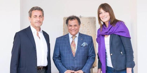 Nicolas Sarkozy et Carla Bruni ont visité le futur musée de l'histoire des civilisations.
