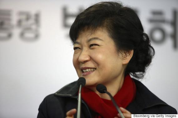 park geun hye 2012 dec