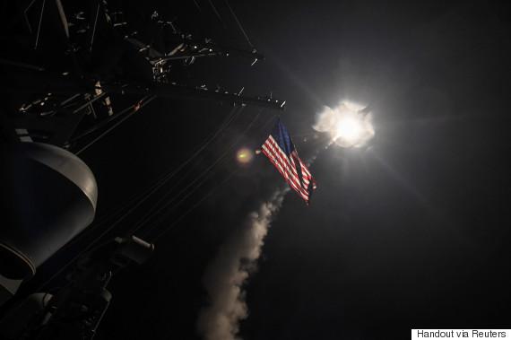 us airstrike missile syria