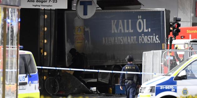 Mutmaßlicher Terroranschlag in Schweden: Was wir wissen - und was nicht