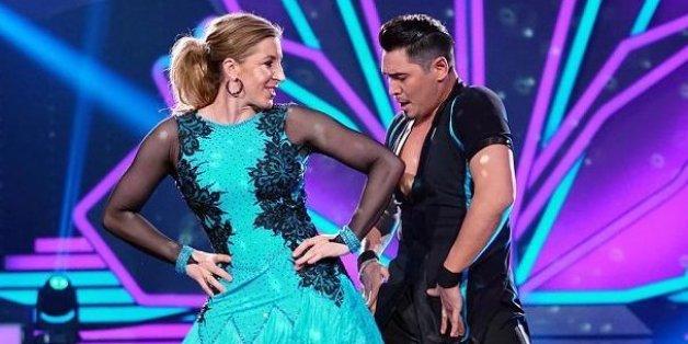 """Anni Friesinger blamiert sich bei """"Let's Dance"""" - doch der Hammer kommt ganz am Ende der Show"""