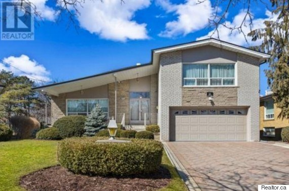 This Three Plus One Bedroom Split Level Home In The Bathurst And Steeles Area Is As Typical For Toronto It Gets Its Listed 1599 Million
