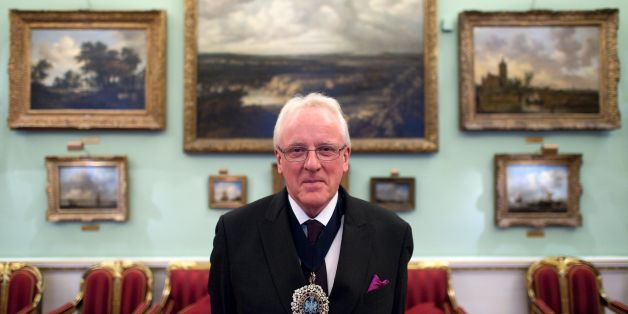 The Lord Mayor of London, Andrew Parmley, poses for a portrait after an interview with AFP at his official residence, Mansion House, in the City of London on November 22, 2016. The Brexit vote has shaken the City of London but will not destroy it, the newly-installed Lord Mayor of the British financial hub told AFP in an interview. Speaking at his offices in Mansion House -- opposite the Bank of England -- Andrew Parmley spoke of his concerns about attracting high-skilled workers and the potential loss of passporting and euro-clearing rights.  / AFP / JUSTIN TALLIS / TO GO WITH STORY BY Ouerdya AIT ABDELMALEK        (Photo credit should read JUSTIN TALLIS/AFP/Getty Images)